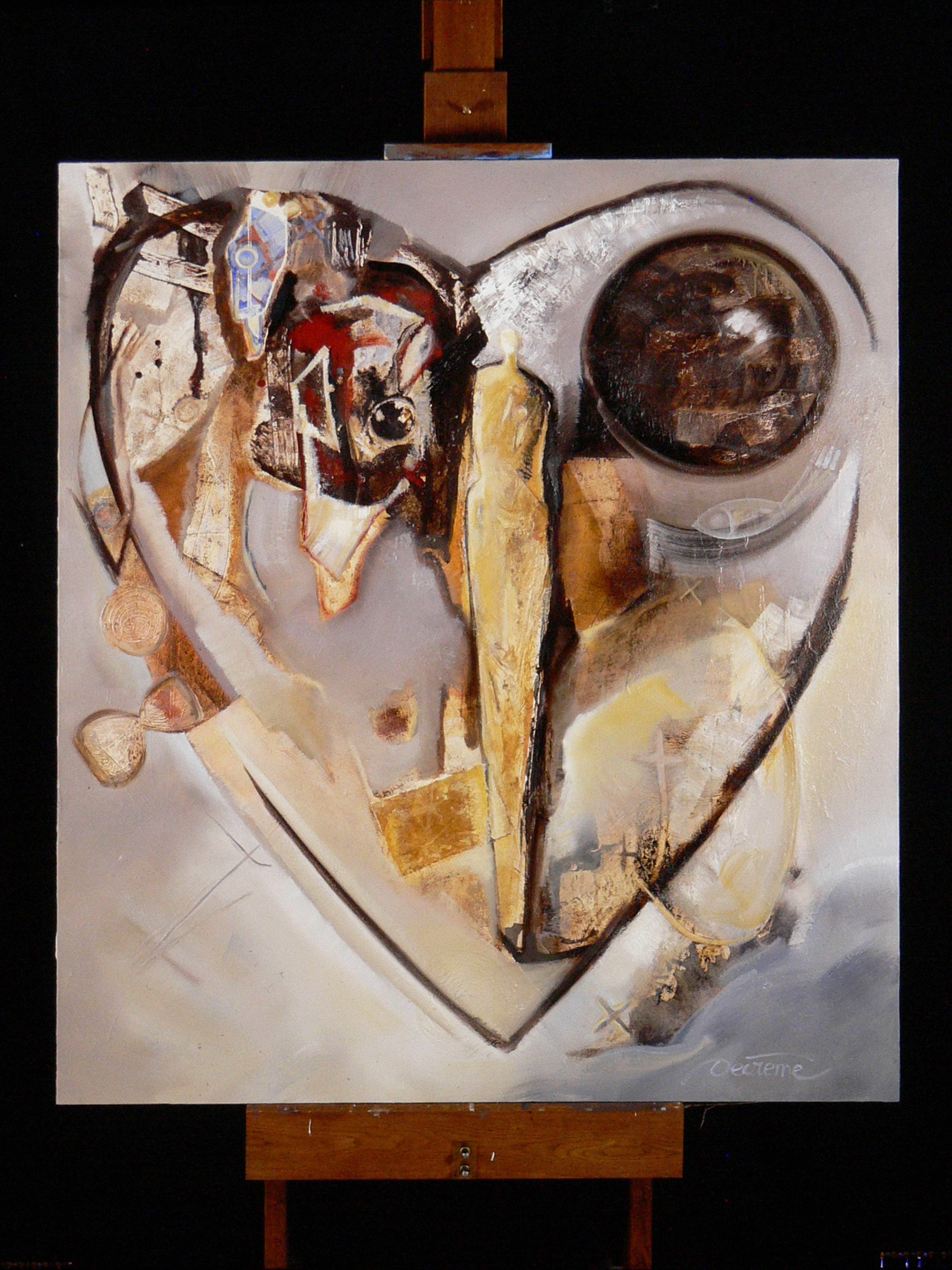 DECREME_HST_Le coeur du peintre_135x150_1997