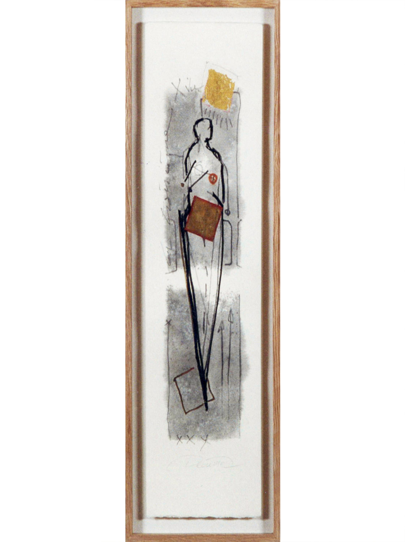 DECREME-ST2-Encre-or-et-collage-sur-papier-56x16-1994