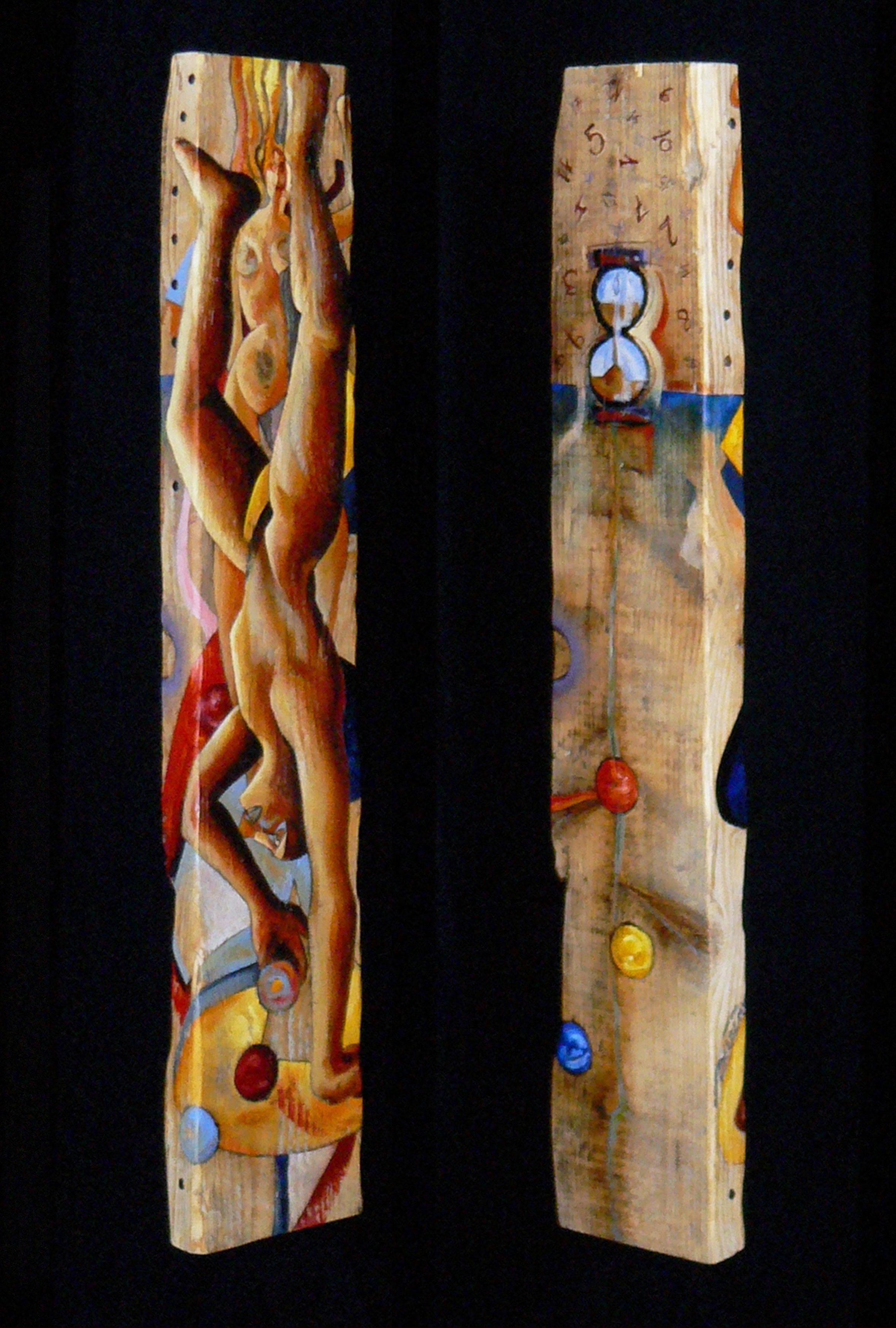 DECREME-Jongleur-Peinture-sur-bois-100x8x28cm-1999