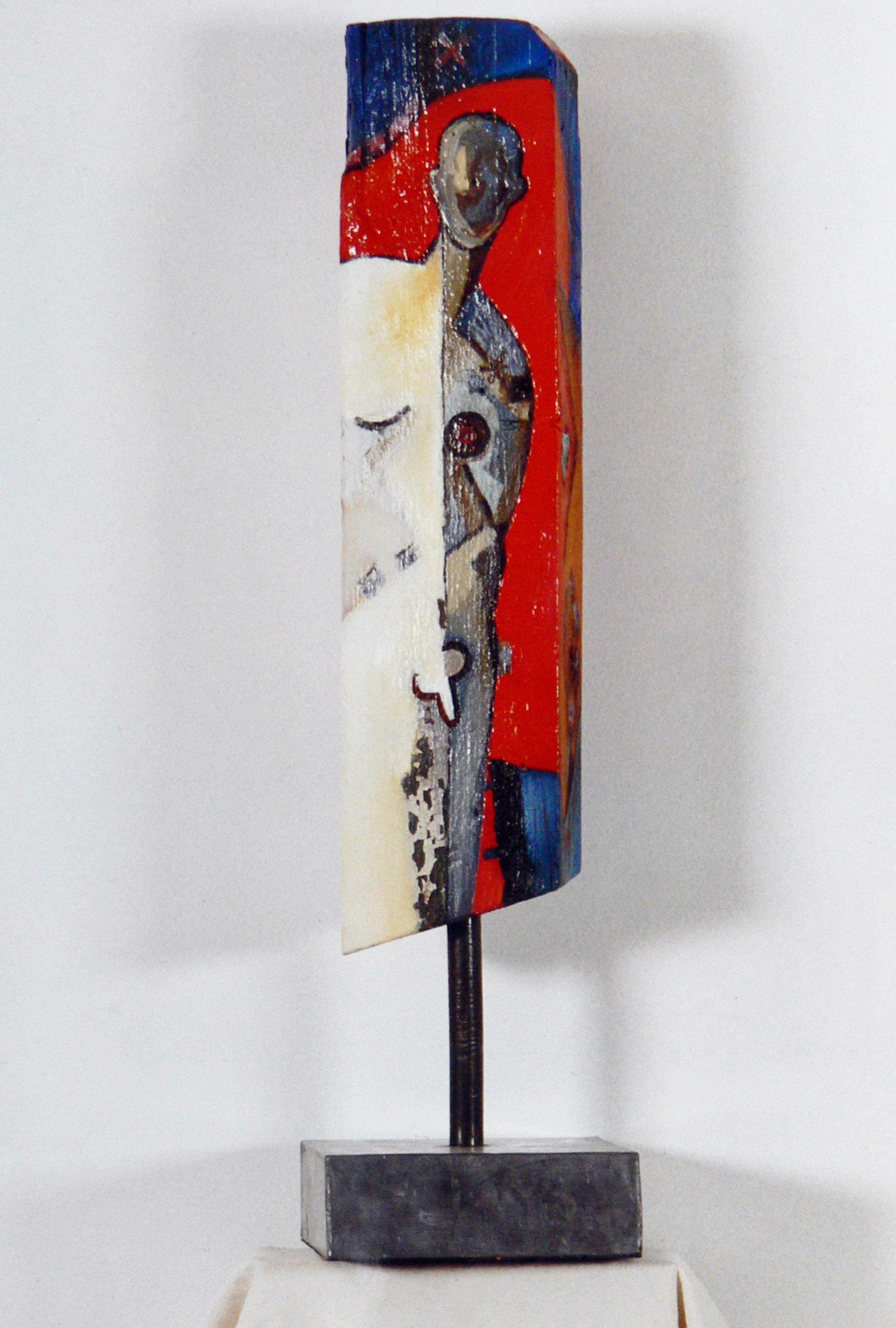 DECREME-Sans-titre-Huile-sur-bois-55x18x8cm-1998